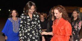 Vidéo: La famille Obama accueillie par la Princesse Lalla Salma à Marrakech