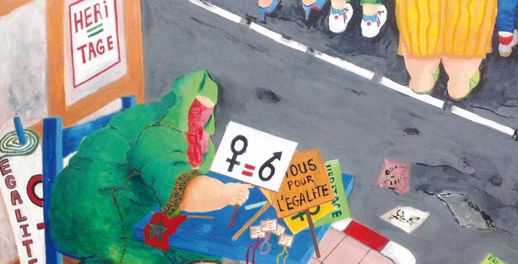 Quand les hommes défendent l'égalité en héritage: Hakima Lebbar revient avec une exposition et un livre collectif