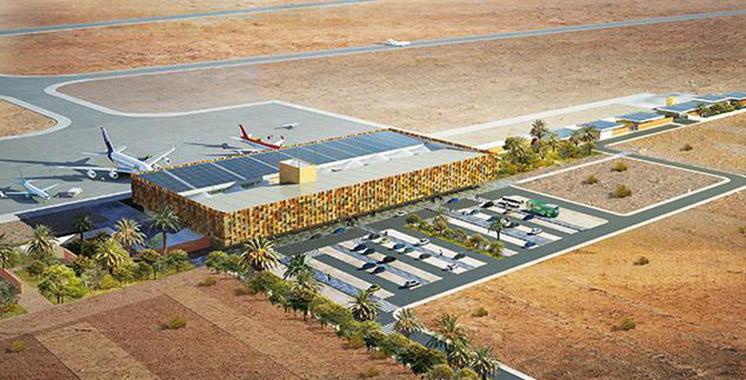 Extension de l'aéroport de Guelmim: Les travaux bientôt achevés