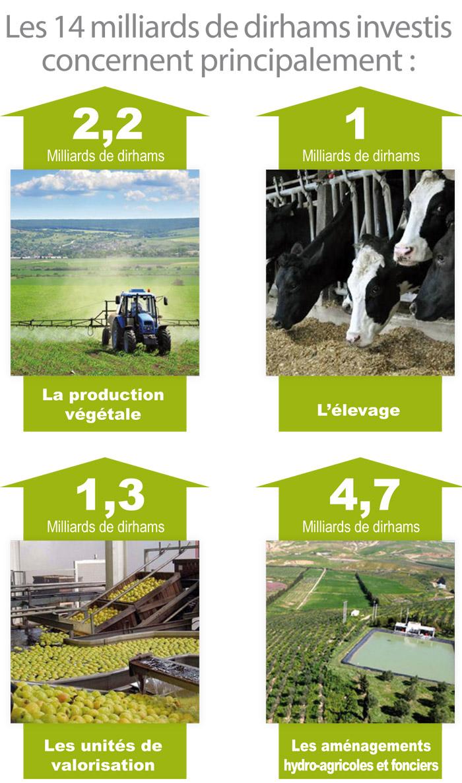Agriculture-Maroc-Les-14-milliards-de-dirhams-investis-concernent-principalement