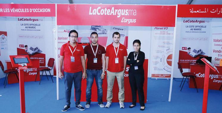 Auto Expo: Plus de 4.000 cotations pour le stand de l'équipe de l'Argus Maroc