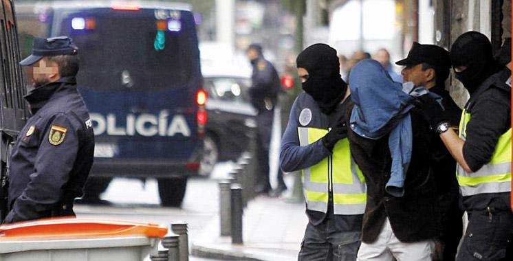 Espagne : arrestation de deux Marocains soupçonnés de soutenir Daech