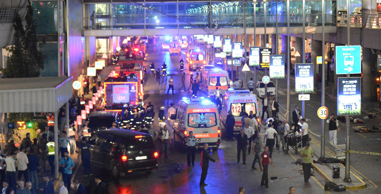 Au moins 36 morts dans les attentats-suicides à l'aéroport d'Istanbul