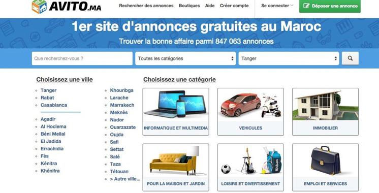 Le site Avito.ma atteint la barre d'un million d'annonces actives