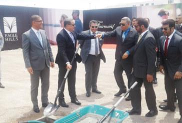 Fairmont la Marina Rabat-Salé Hotel and Residences: Le premier coup de pioche est donné