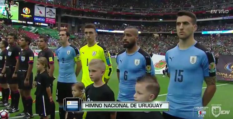 Copa América : malaise, quand l'hymne du Chili retentit en l'honneur de l'Uruguay