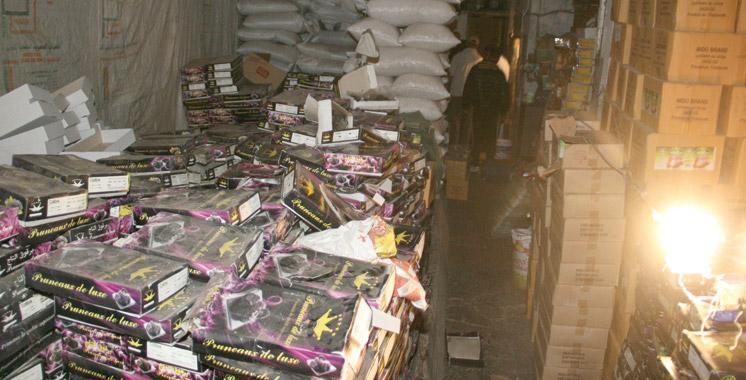 Contrôle sanitaire à Tanger-Tétouan-Al Hoceima: Plus de 9 tonnes de produits impropres  à la consommation saisies