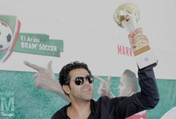 Marrakech : Jamel Debbouze donne le coup d'envoi d'un tournoi de mini-foot