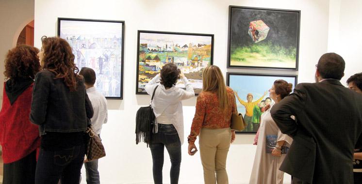 Vernissage à Rabat : Une vingtaine d'artistes pour un message  de tolérance  et de paix