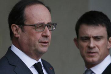 Hollande annonce l'état de catastrophe naturelle au prochain conseil du gouvernement