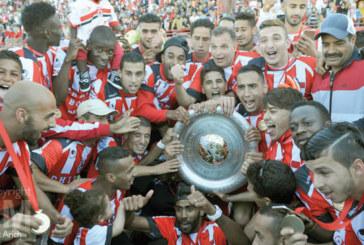 Botola Maroc Telecom D1:  Le FUS sacré champion pour la première fois de son histoire en 2016