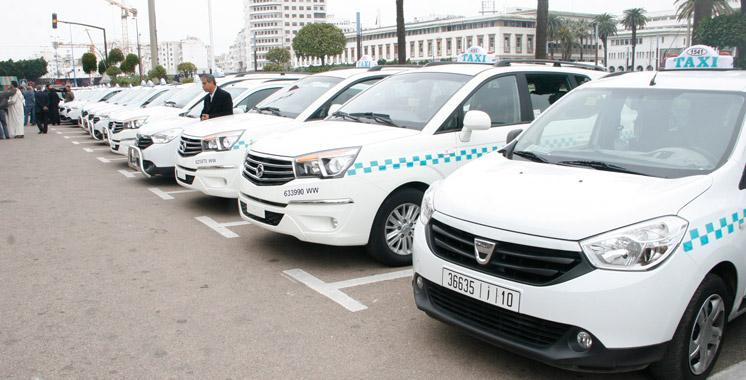 Les grands et petits taxis urbains et interurbains auront leur salon