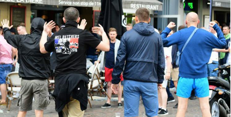Euro-2016: Nouveaux Heurts entre supporters anglais et russes, 4 personnes arrêtées