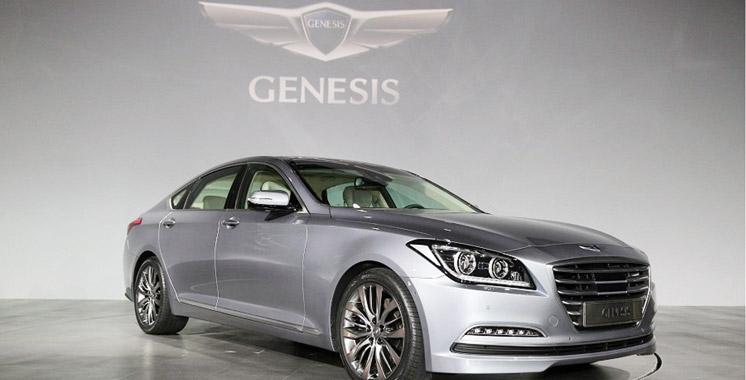 Hyundai Genesis: Tarif et équipements