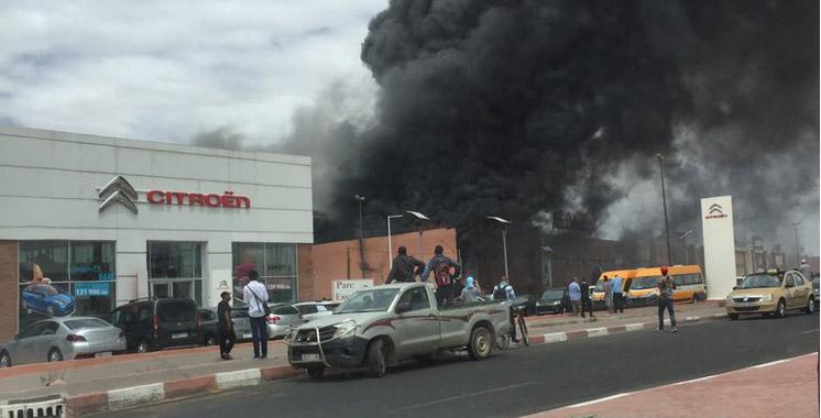 Incendie dans Mr. Bricolage Marrakech : dégâts matériels mais pas de victimes