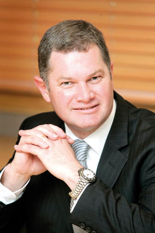 Jacques Brent, vice-président marketing de la région Asie-Pacifique.