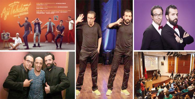 Après le succès d'«Aji Tehdem 2015»: De l'humour encore et encore en ce Ramadan  avec «Les inqualifiables»