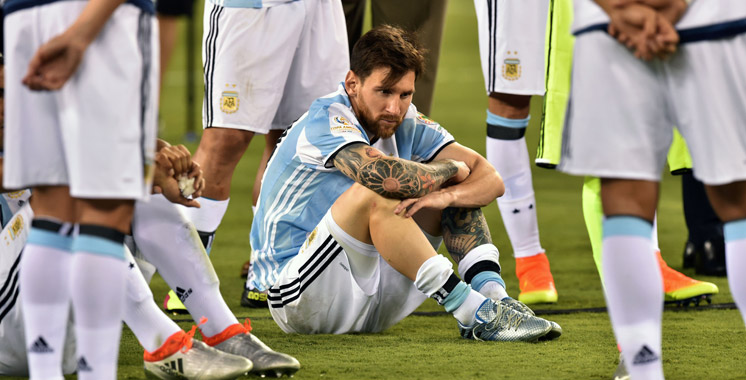 Messi met un terme à sa carrière internationale