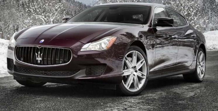 Maserati relifte sa  Quattroporte
