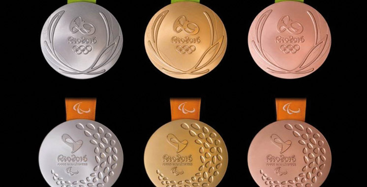 Les médailles olympiques de Rio-2016,  les plus lourdes de l'histoire