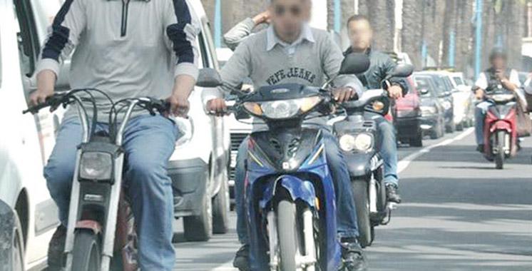 Plaque d'immatriculation et permis: Les sanctions pour les motards dès juillet