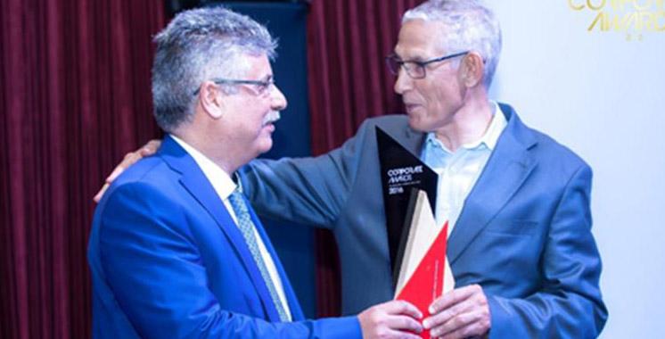 Distinction: Noureddine Charkani personnalité de l'année 2016