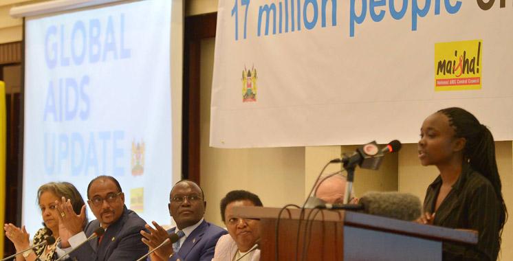Sida: 17 millions de personnes sous traitement dans le monde