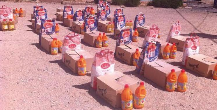 Laâyoune-Sakia El Hamra: Plus de 20.500 bénéficiaires de l'opération «Ramadan 1437»