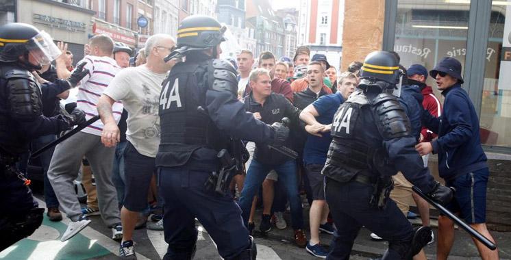 Euro 2016 : 36 personnes arrêtées et 16 à l'hôpital après des heurts à Lille