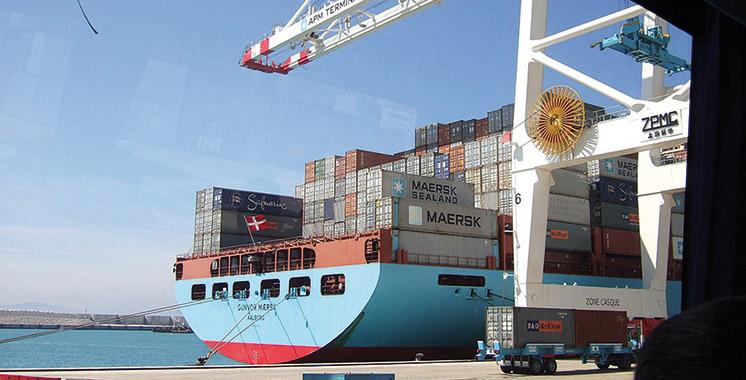 Le mauvais temps suspend le trafic maritime entre Tanger-ville et Tarifa