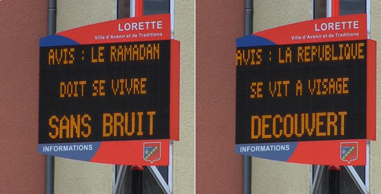 France : Faites ramadan mais sans bruit et à visage découvert
