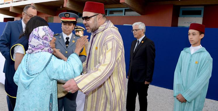 SM le Roi lance à Rabat l'opération de soutien alimentaire «Ramadan 1437»