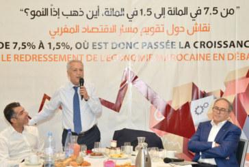 Scénario-catastrophe pour la croissance – Sajid : «Les Marocains ont de plus en plus peur»