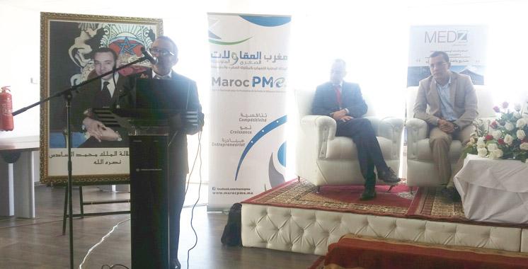 Lors d'une journée d'information au profit de la PME/TPE: MedZ présente son package aux entreprises industrielles