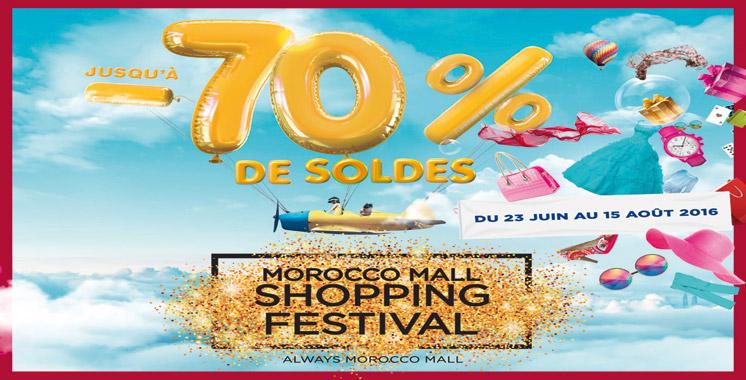 Le Morocco Mall Shopping Festival est de retour !