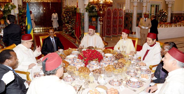 SM le Roi offre à Casablanca un iftar officiel en l'honneur du Président rwandais