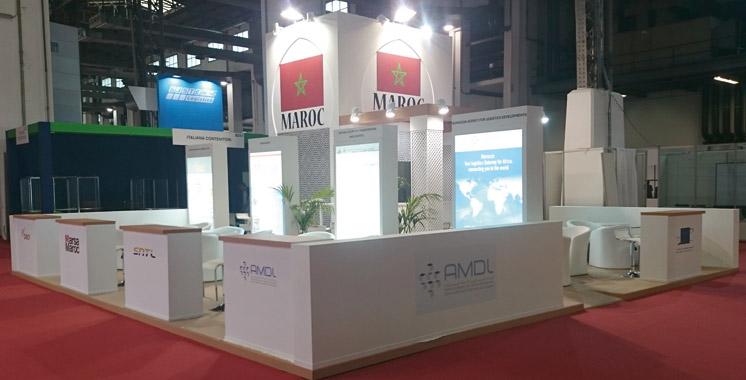 Le maroc participe au salon international de la logistique for Salon logistique