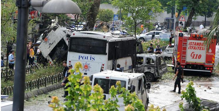 Turquie: onze morts dans un attentat à la bombe à Istanbul