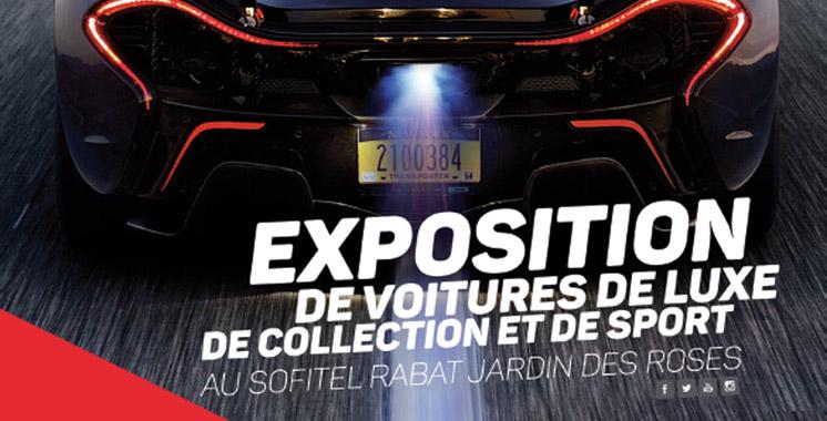 Rabat: 100 voitures de luxe exposées pour la solidarité !
