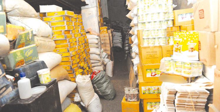 Tanger-Tétouan-Al Hoceima: Saisie de plus de 18 tonnes de produits impropres à la consommation