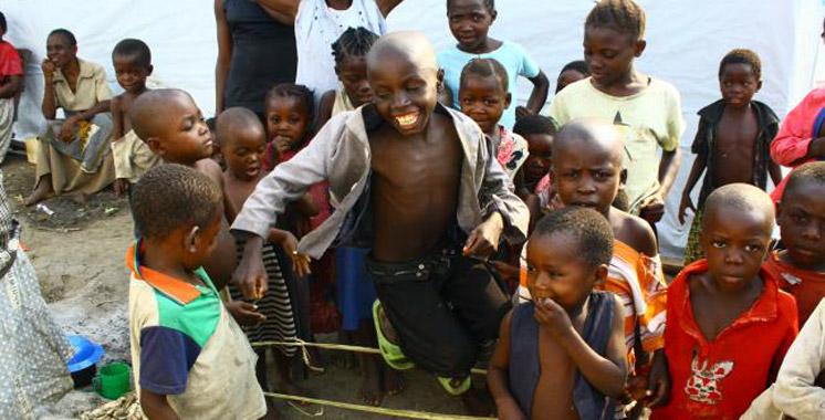 Des enfants marocains à la Journée de l'enfant africain au Mali