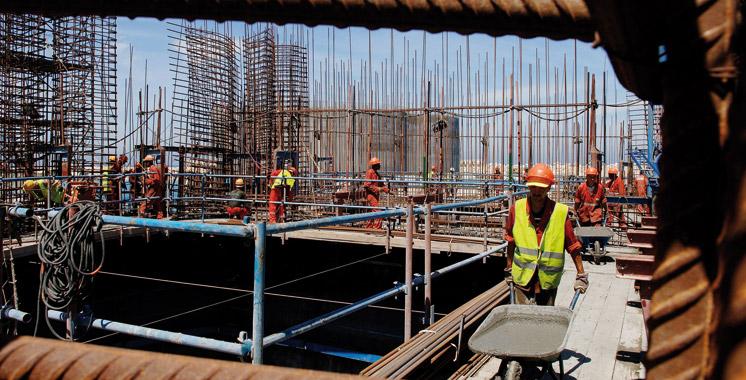 Marchés publics : Les travaux de construction et d'aménagement en tête de liste