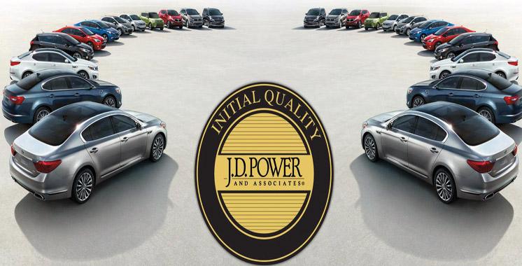 Grâce à la qualité et la fiabilité de ses véhicules vérifiées par J.D Power: Kia Motors accapare le haut du podium