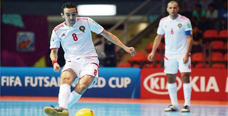 Préparation à la Coupe du monde de futsal Colombie 2016: Le Maroc se mesurera au Portugal