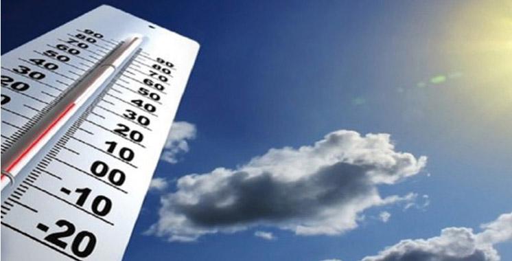 Alerte météo : Il fera chaud entre mardi et jeudi