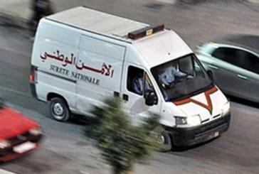 Un officier de police arrêté à Tanger Pour conduite en état d'ivresse ayant  engendré un accident