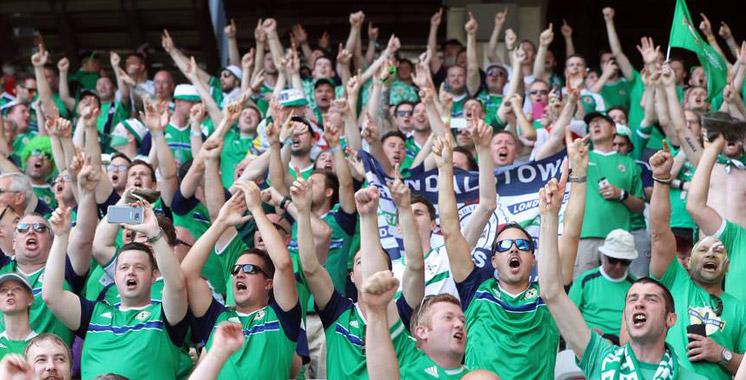 Les supporters irlandais, les «Bisounours du foot», refont parler d'eux