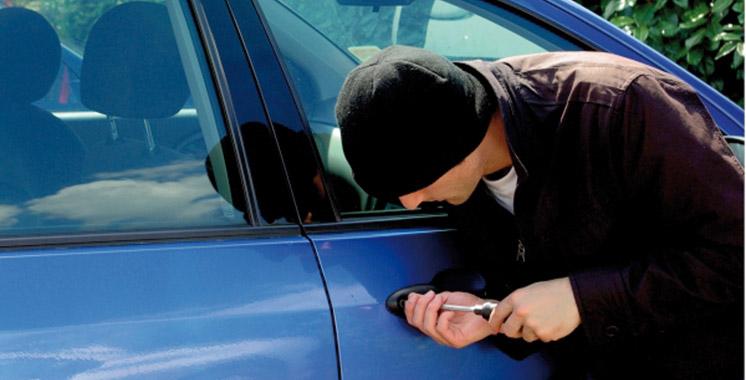 Inzegane : Démantèlement d'une bande de voleurs de voitures