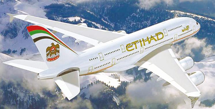 Etihad Airways : Plus  de 18 millions de passagers transportés en 2016