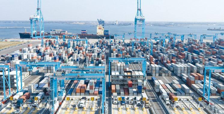 Tanger Med passe la barre des 50 millions de tonnes de marchandises traitées !!